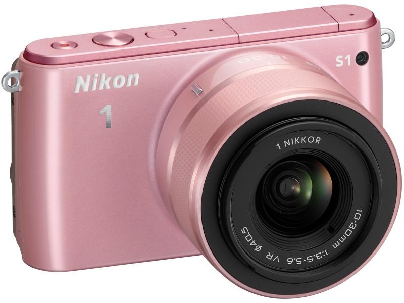 左からNikon 1 J3、Nikon 1 S1