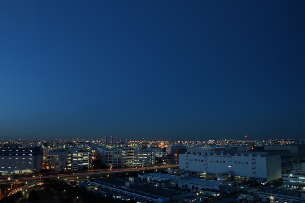 北側の空(日没から約20分)