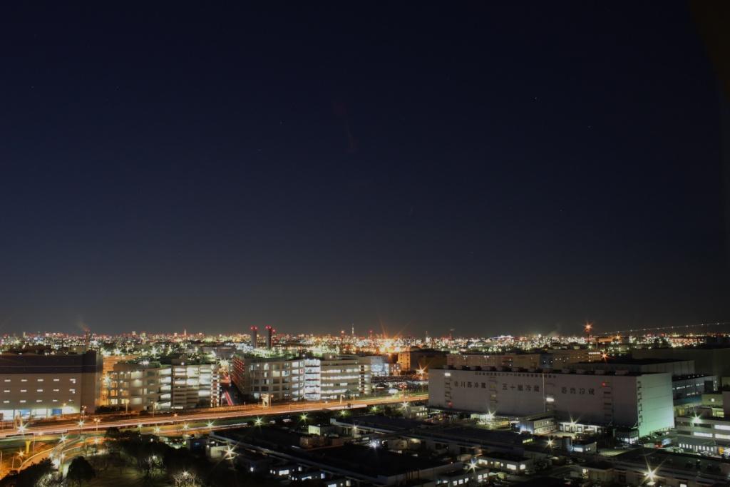北側の空(日没から約40分)