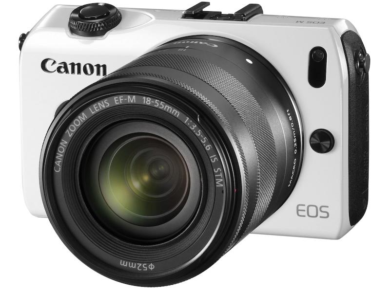 EOS M・EF-M18-55 IS STMレンズキット(ホワイト)