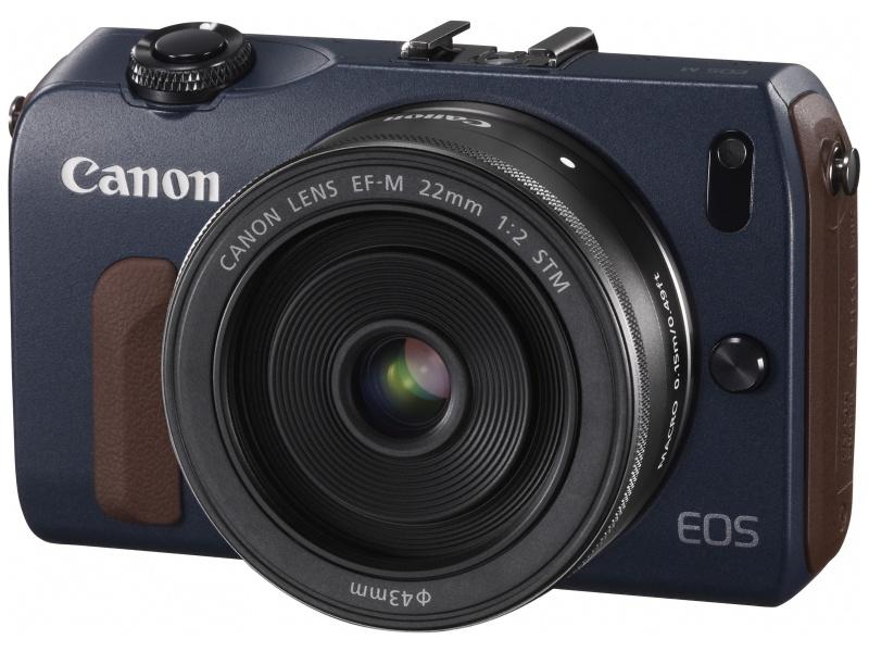 EF-M 22mm F2 STMの装着イメージ