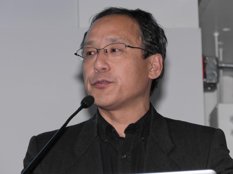 ペンタックスリコーイメージング マーケティング統括部 副統括部長の野口智弘氏。