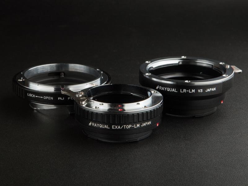 距離計非連動タイプのアダプターは、ライブビューのないライカM9/M8だと目測撮影になる