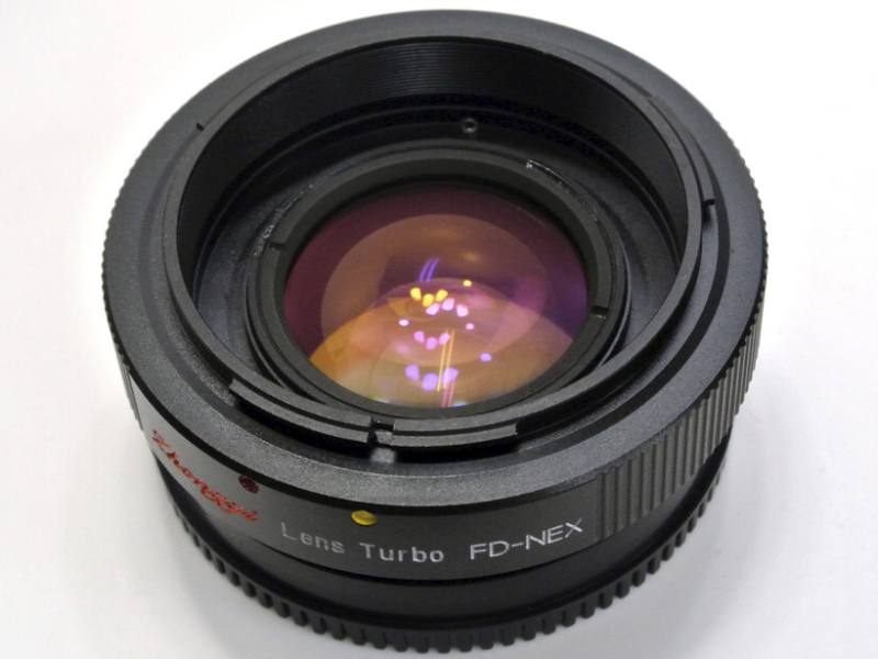 FD-NEX Lens Turbo