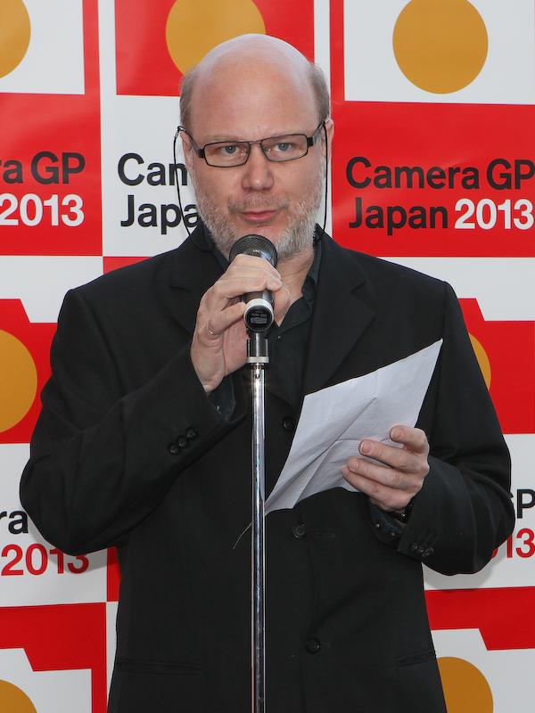 カメラ記者クラブと協力関係にある欧州のTIPA(The Technical Image Press Association)を代表して、副会長のJean-Christophe Béchet氏が来日。「カメラ記者クラブとの関係は3年目になる。これからも実りの多いことを望む」とのメッセージを述べた。