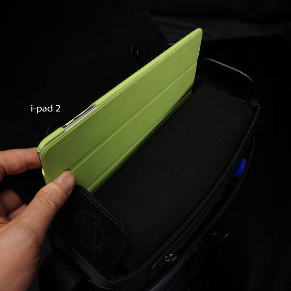 iPadの収納に対応する