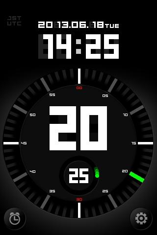 Time SignalはNTPサーバーにアクセスしてiPhoneの時刻を修正し、正確な時刻を表示とともに読み上げるiOSアプリ。