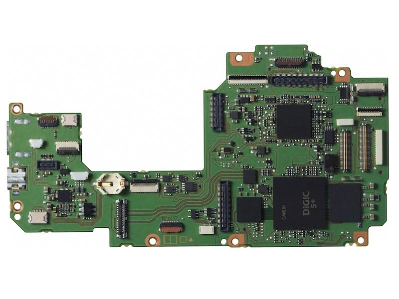 DIGIC 5+を含むメイン基板