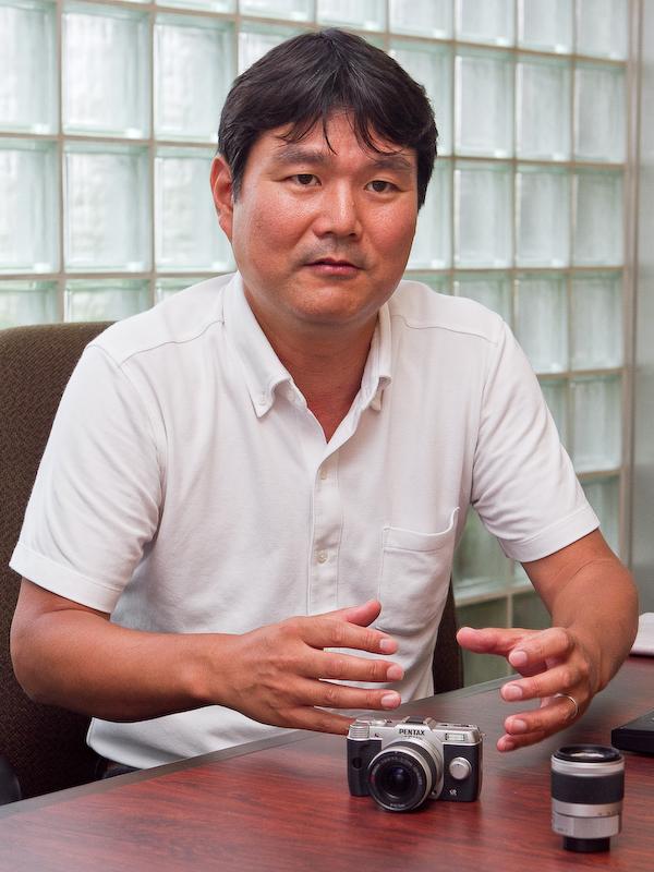 荒井孝氏(QシリーズとKシリーズの商品企画を担当)