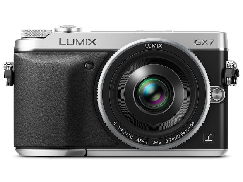 LUMIX G 20mm F1.7 II ASPH.を装着したところ。