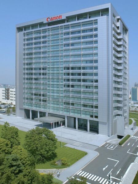 インタビューはキヤノン本社(東京都大田区下丸子)で行なった。