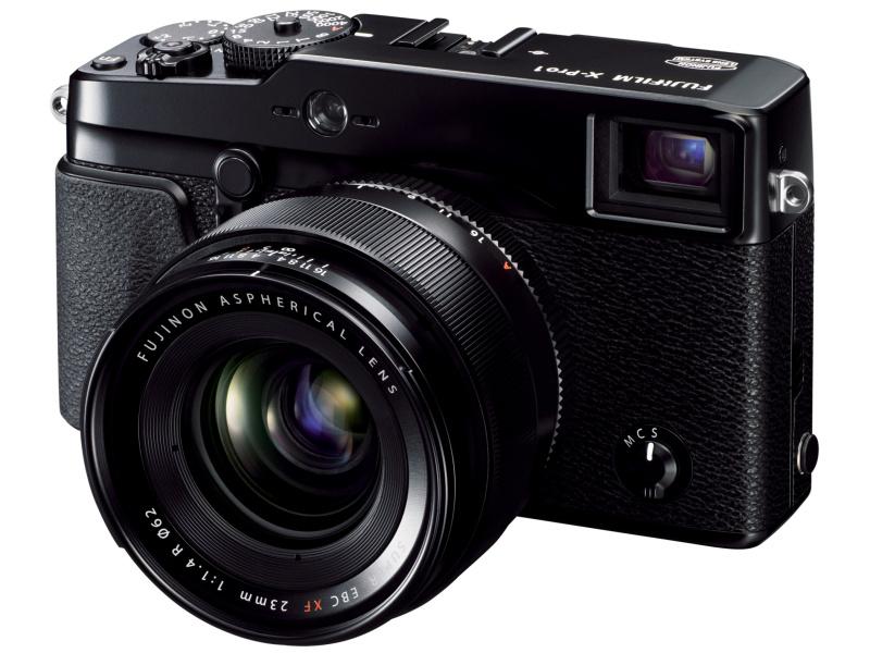 FUJIFILM X-Pro1の装着イメージ