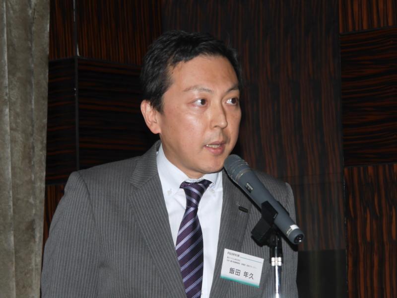 富士フイルム株式会社 光学・電子映像事業部 営業部統括マネジャーの飯田年久氏