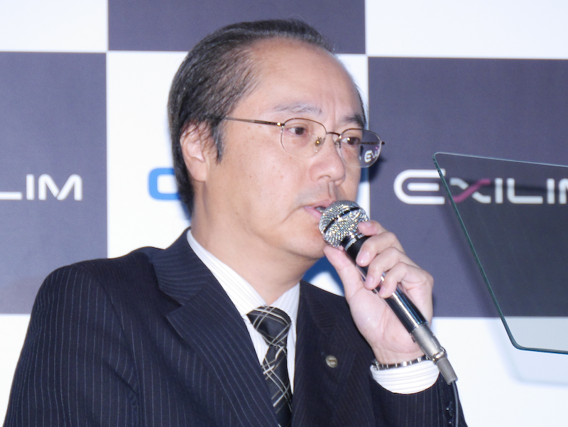 カシオ計算機 執行役員 QV事業部長の中山仁氏。