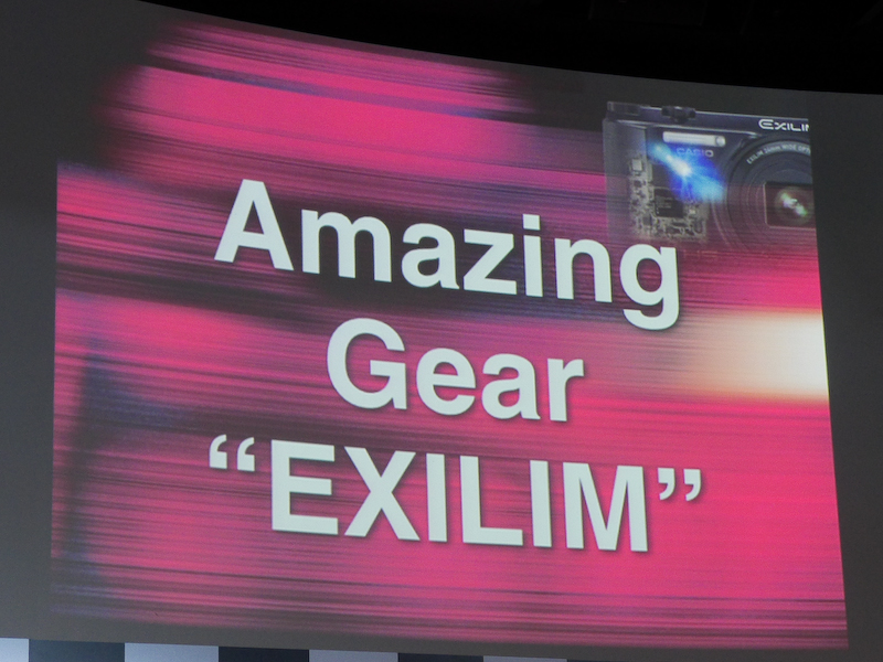 カシオのデジタルカメラを「Amazing Gear」と表現した。