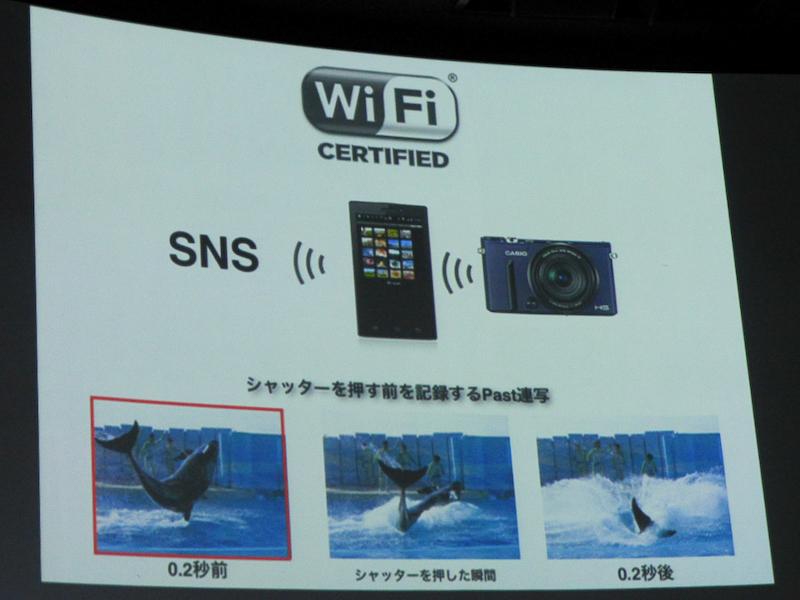 Wi-Fiによる遠隔撮影にも対応した。