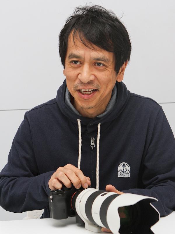 デザインを担当した曽我部卓氏。