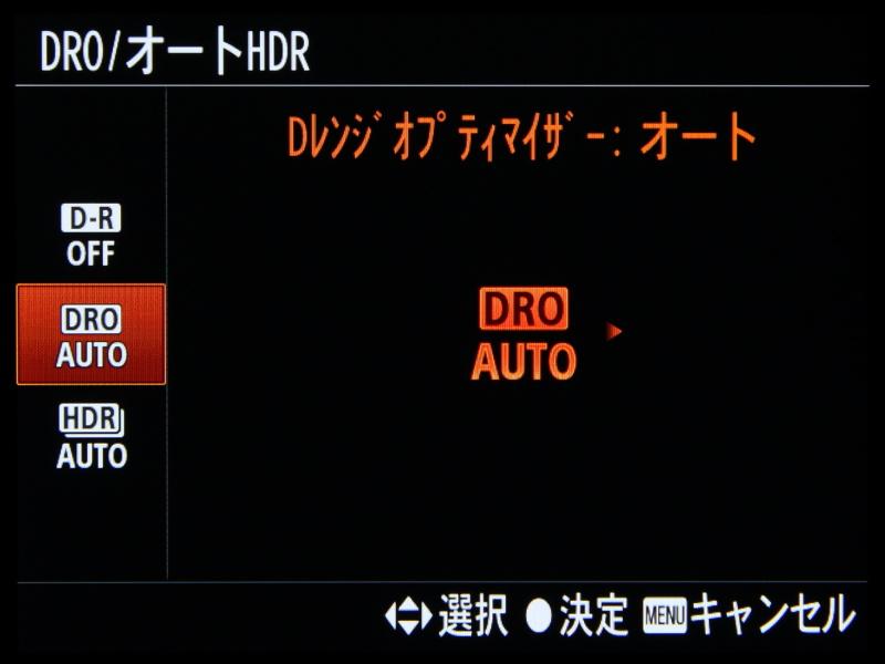 DレンジオプティマイザーやオートHDRの搭載も他のRXシリーズ同様とする。
