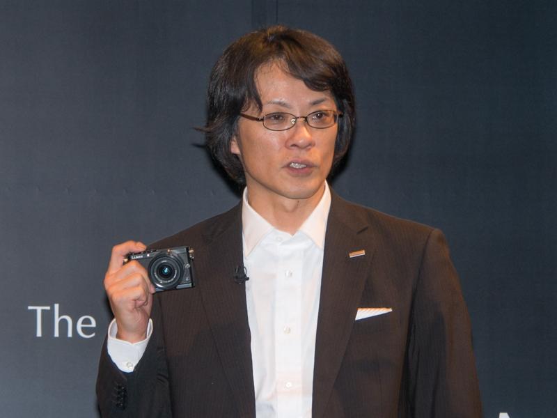 パナソニック株式会社 AVCネットワークス社 DSC事業部 事業部長の北尾一朗氏