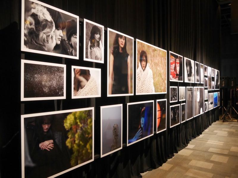写真家の田川梨絵氏が撮影した73点を展示
