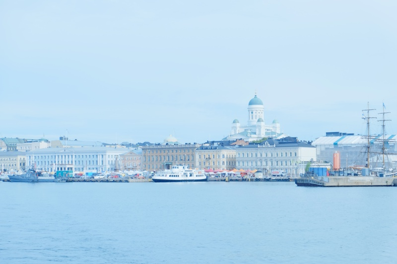 海から見たヘルシンキの街。透明で柔らかい空気で包まれていました。エアリーな空気感を表現したかったので、ダイナミックレンジを400%に設定して柔らかいイメージで撮りました。