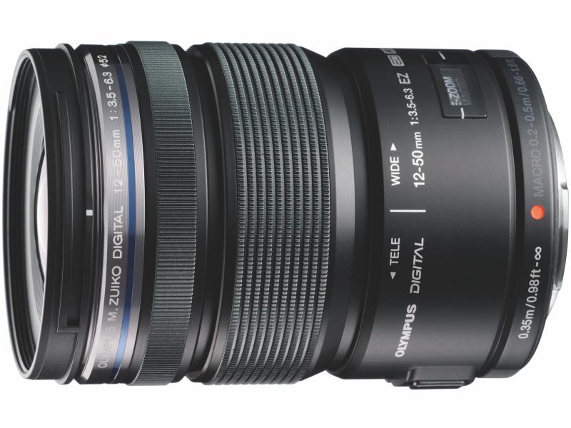 M.ZUIKO DIGITAL ED 12-50mm F3.5-6.3 EZ(ブラック)
