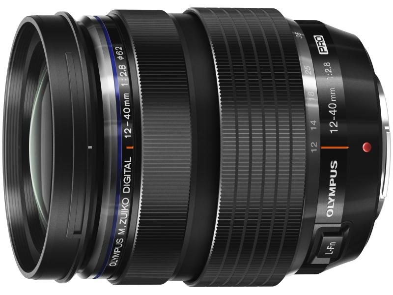 新たな高性能レンズシリーズM.ZUIKO PROの第1弾、M.ZUIKO DIGITAL ED 12-40mm F2.8 PRO