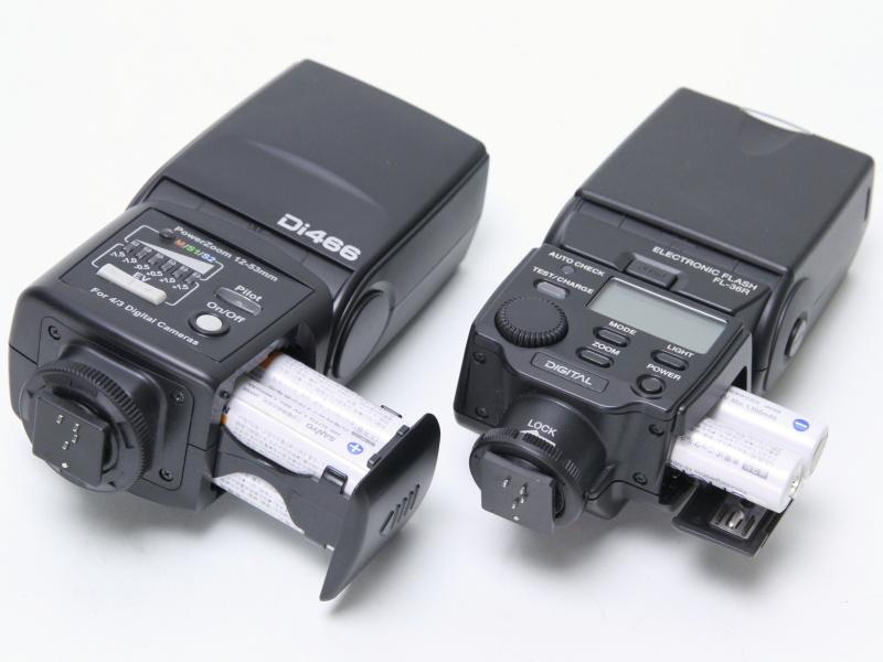 左のDi466はバッテリーマガジン方式を採用
