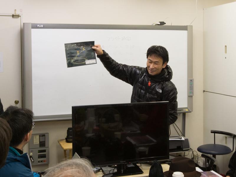 講師は航空風景写真家の加藤健志氏