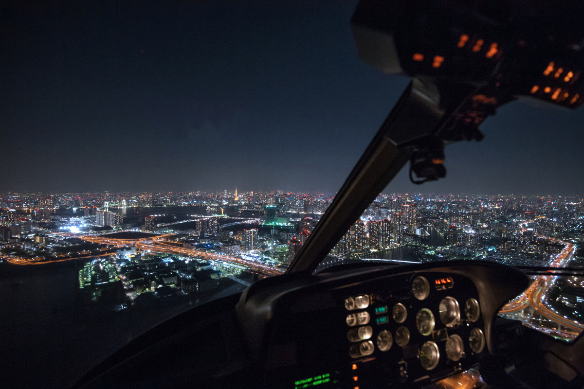 東京タワーを目指す