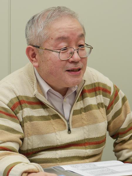 LUMIX Gシリーズ全般の市場化推進を担当している井上義之氏。