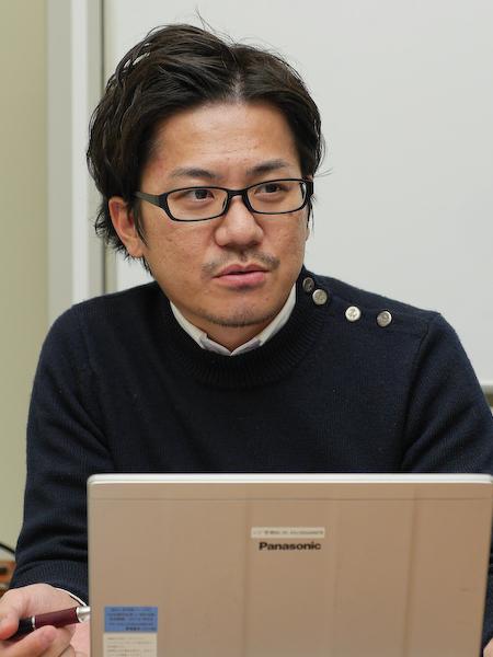 商品企画を担当した渡邊慎治氏。