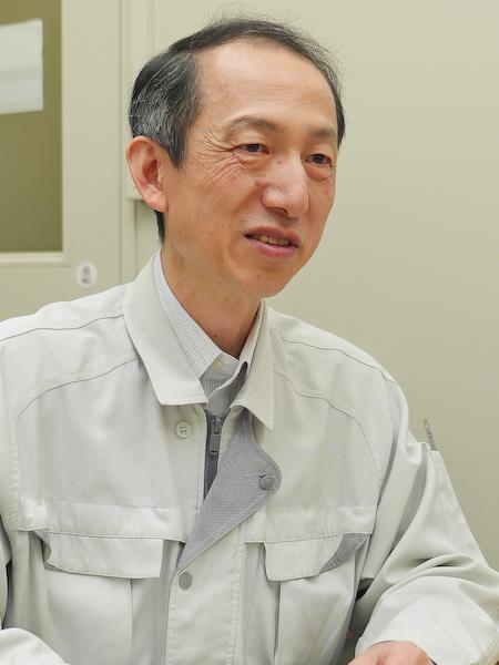 機構設計を担当した寺坂琢史氏。