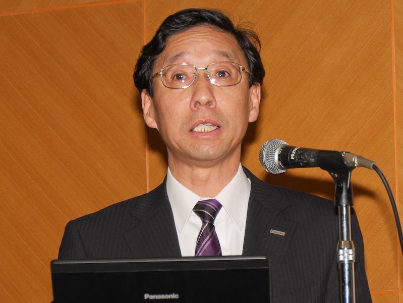 パナソニック ネットワーク事業部の杉田卓也氏