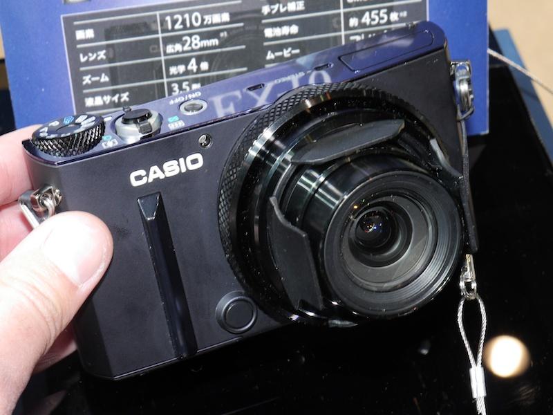 3月下旬発売予定のカシオEX-100