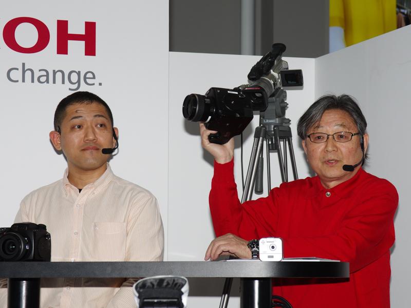 田中希美男氏(右)と前川泰之氏(左)