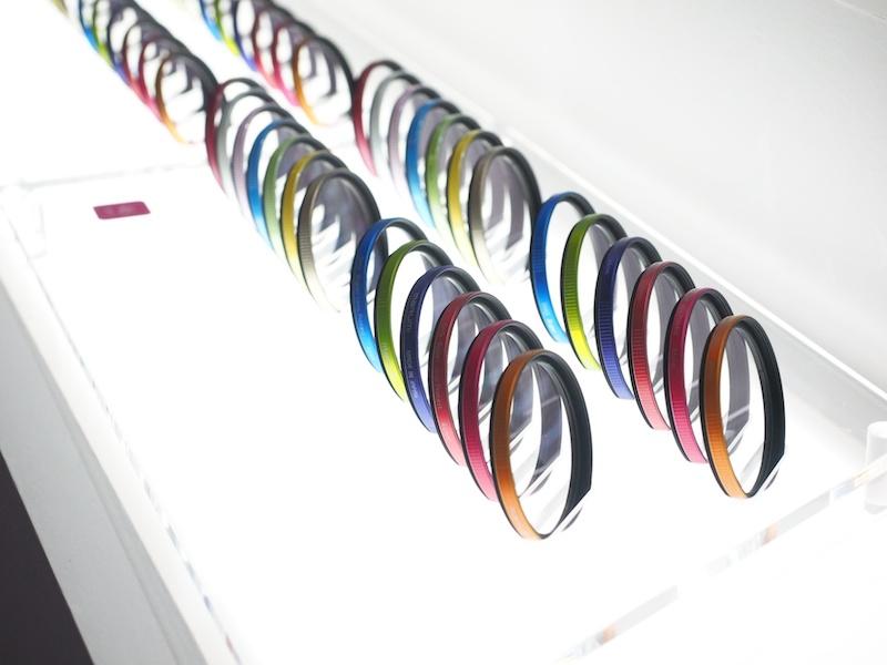 「My color filter」。ビビッドカラーとパステルカラーの全10色が用意されたレンズ保護フィルター。37mm、40.5mm、46mm、55mmが用意されています。
