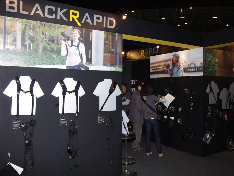 すべての現行BLACKRAPIDを試せる体験型の構成