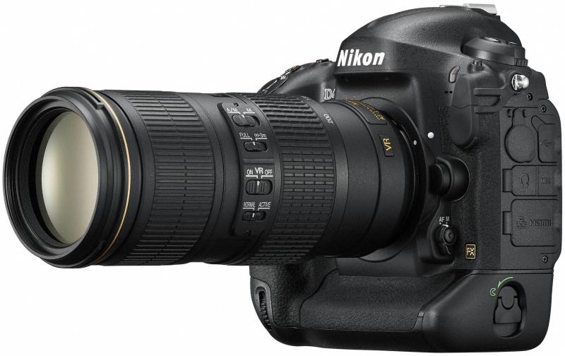 AF-S NIKKOR 70-200mm F4 G ED VR装着例