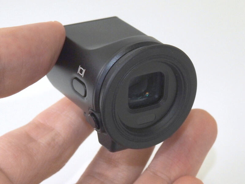 電子ビューファインダー「DF-N1000」(単体税別3万3,000円)アイセンサー付き