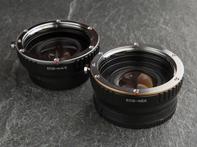 RJ Camera製のレデューサーアダプターは1万円後半とリーズナブルだ