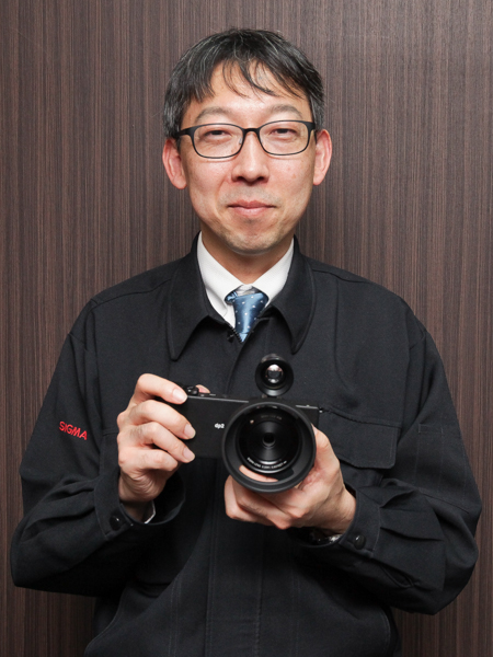 シグマの桑山輝明氏(広報を担当)