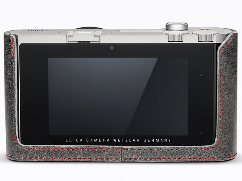 ライカT用レザープロテクター