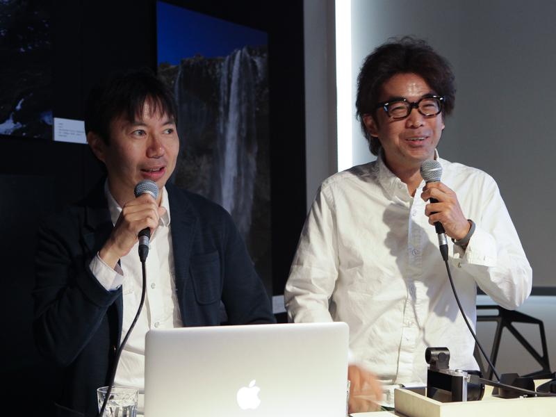 藤井智弘氏(左)と河田一規氏(右)