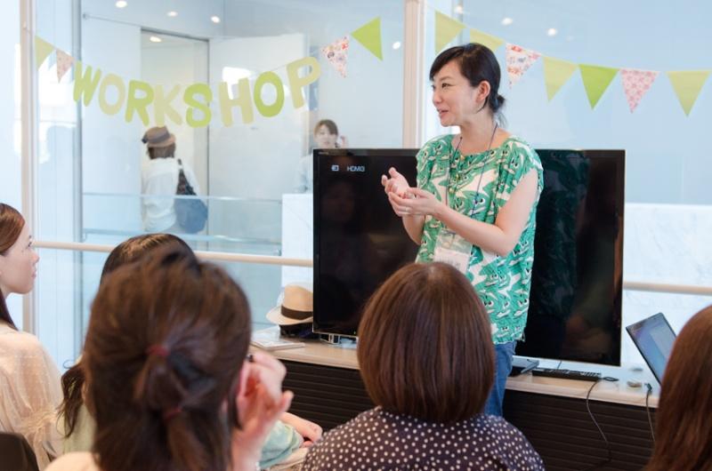 EOS 6D体験の講師は鶴巻育子さん。ある参加者が「人を撮ることがなかったので勉強になりました」と感想を述べてくれました。