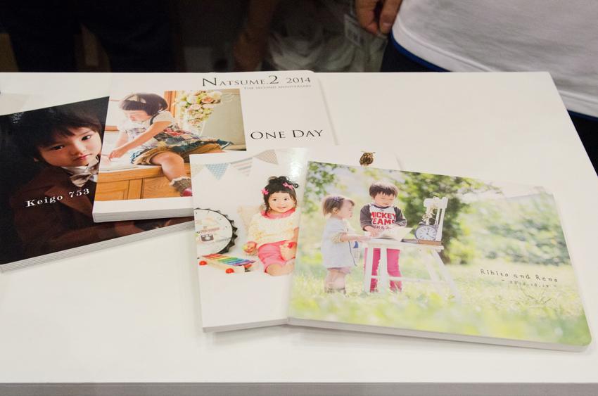 「えほんBOOK」のやさしい雰囲気は、子どもの写真をかわいらしく保存するのに最適です。