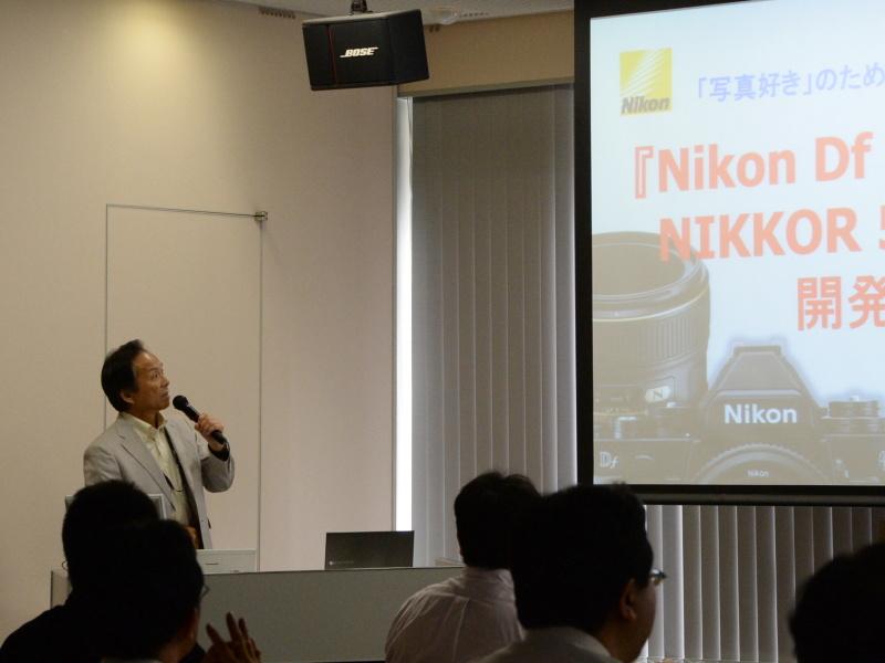 ニコン後藤研究室 後藤哲郎氏のプログラム説明から講演会がスタートした