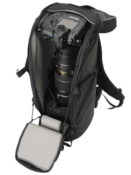 収納例(AF-S NIKKOR 600mm f/4G ED VR+D3S)