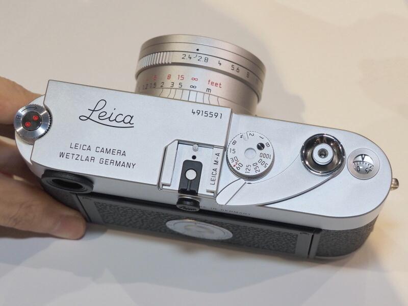 レンズは新ズマリット35mm