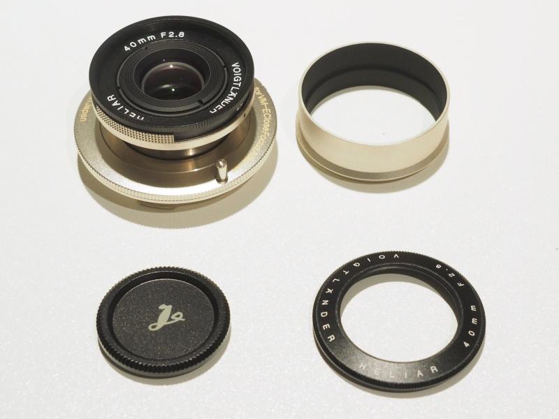 HELIAR 40mm F2.8一式